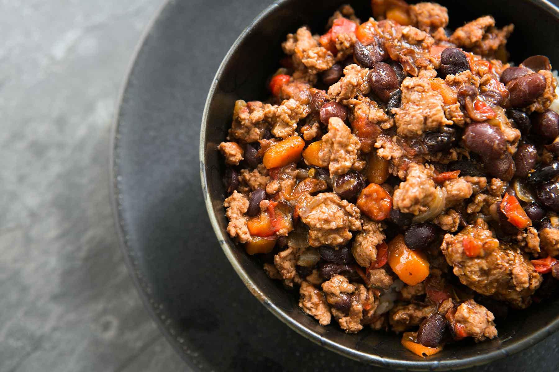 Turkey Black Bean Chili  Black Bean Turkey Chili Recipe