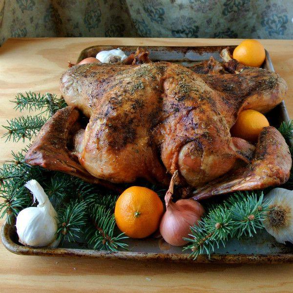 Turkey Brine Alton Brown  Alton Brown s Butterflied Dry Brined Turkey