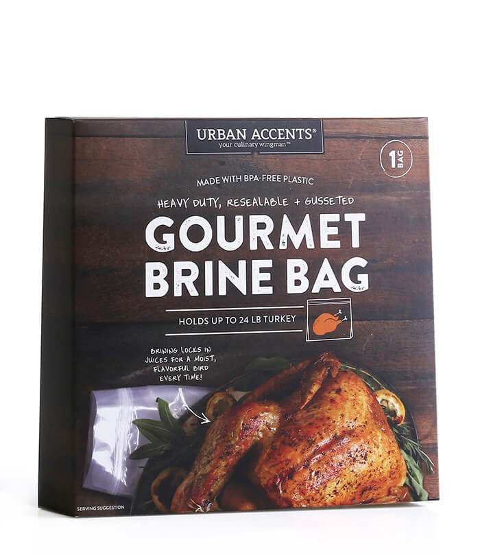 Turkey Brine Bag  Gourmet Brine Bag
