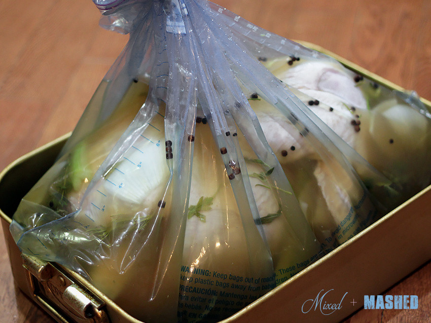 Turkey Brine Bag  The Best Roast Turkey and Brine Recipe Ever