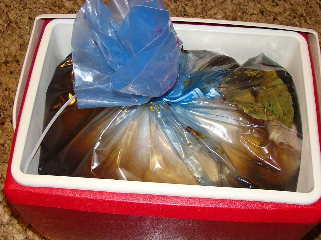 Turkey Brine Bag  Whole Turkey Honey Brine The Virtual Weber Bullet