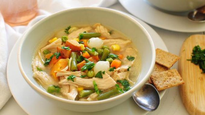 Turkey Carcass Soup  Leftover Turkey Carcass Soup recipe from Tablespoon