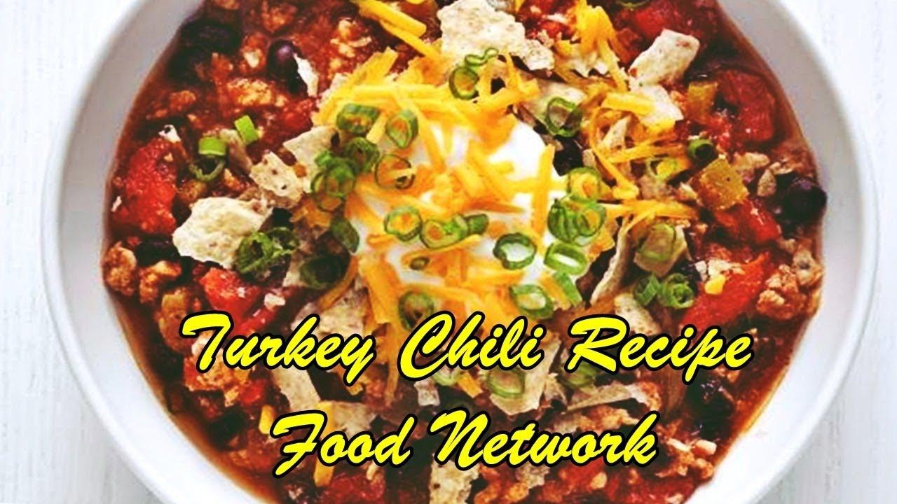 Turkey Chili Food Network  Turkey Chili Recipe Food Network