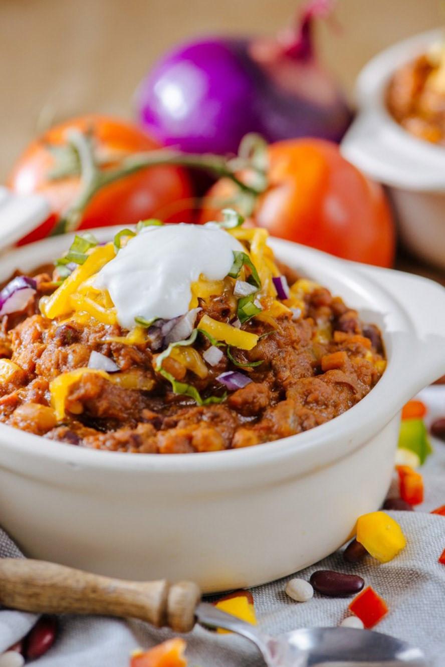 Turkey Chili Food Network  50 Crowd Pleasing Chili Recipes