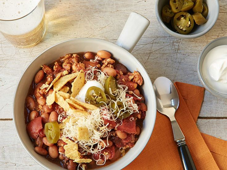 Turkey Chili Food Network  169 best images about large marge soups on Pinterest