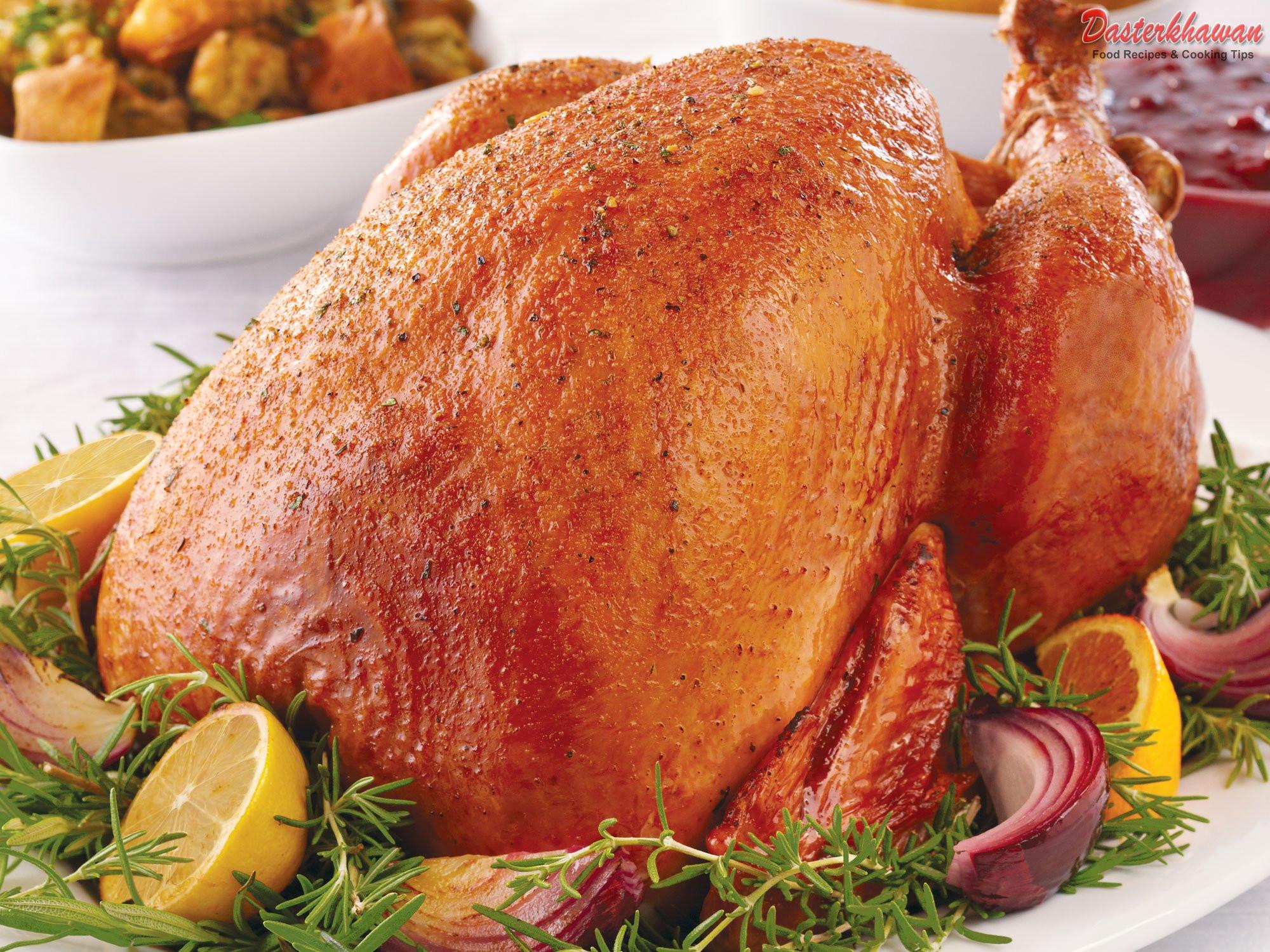 Turkey For Thanksgiving  Thanksgiving Brined Turkey Thigh Recipes — Dishmaps