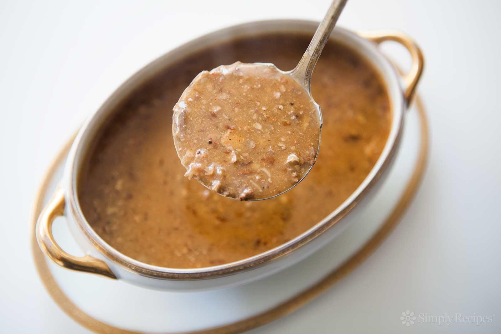 Turkey Giblet Gravy  Giblet Gravy Recipe