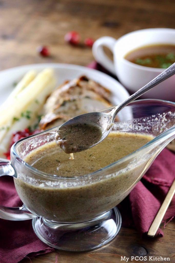 Turkey Giblet Gravy  Paleo Turkey Giblet Gravy Gluten free Low Carb My