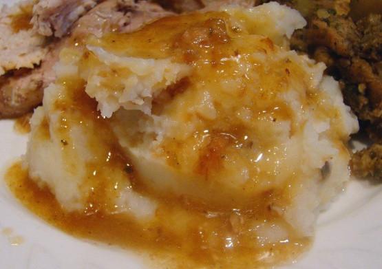 Turkey Neck Gravy  Almost Grandma s Turkey Giblet Gravy Foodgasm Recipes