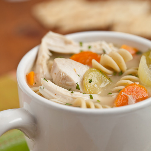 Turkey Noodle Soup  Hearty Turkey Chicken Noodle Soup Chew Out Loud