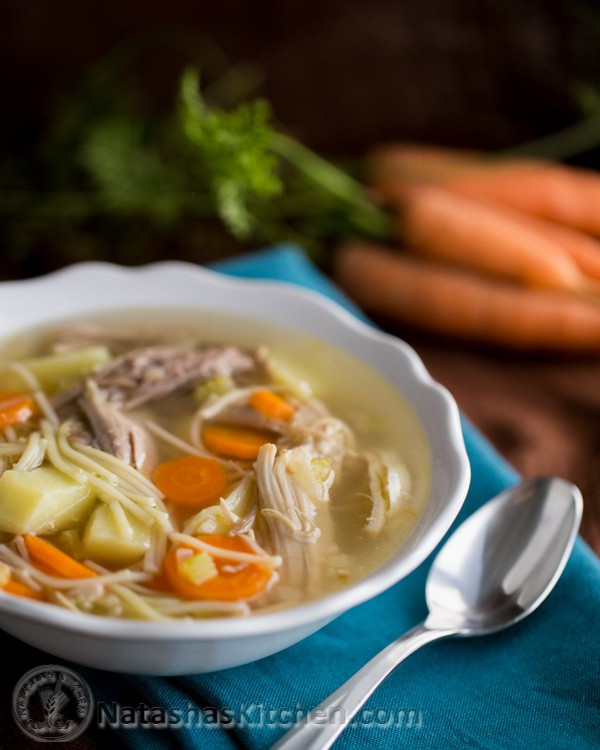 Turkey Noodle Soup  Turkey Noodle Soup Recipe