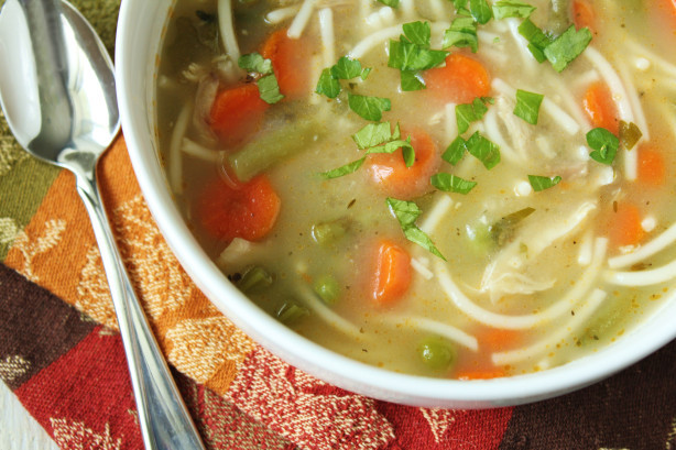 Turkey Noodle Soup  Turkey Noodle Soup Recipe Food