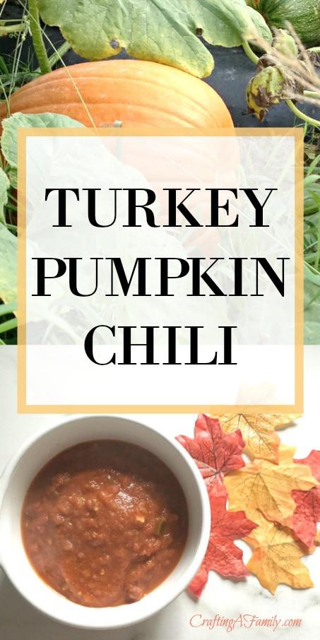 Turkey Pumpkin Chili  Fabulous Fall Chili Turkey Pumpkin Chili You Will Not
