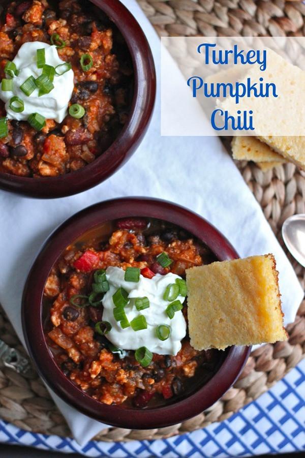 Turkey Pumpkin Chili  20 Best Chili Recipes