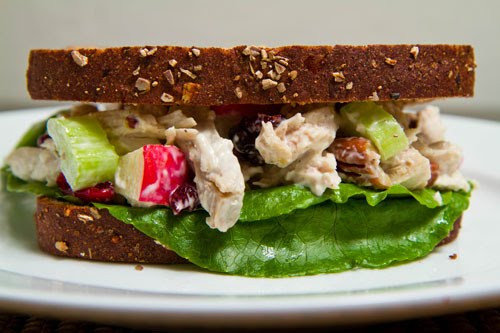 Turkey Salad Sandwich  Turkey Salad Sandwich on Closet Cooking