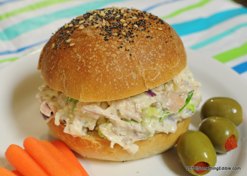 Turkey Salad Sandwich  RecipeBeta A great tasting turkey salad that I'll never