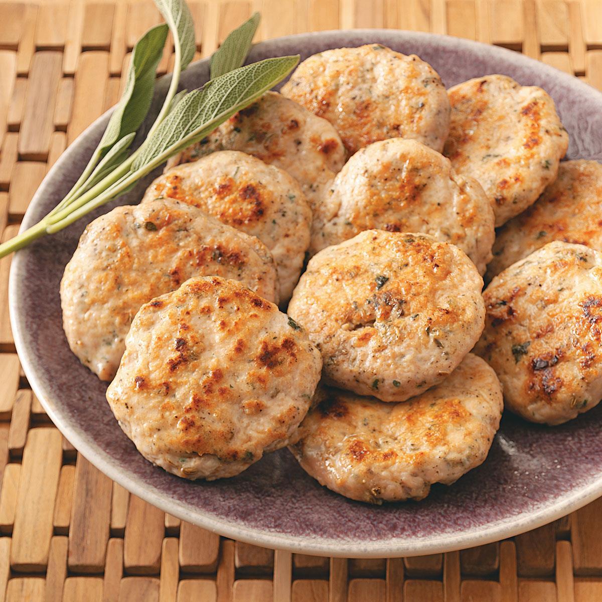 Turkey Sausage Recipes  Sage Turkey Sausage Patties Recipe