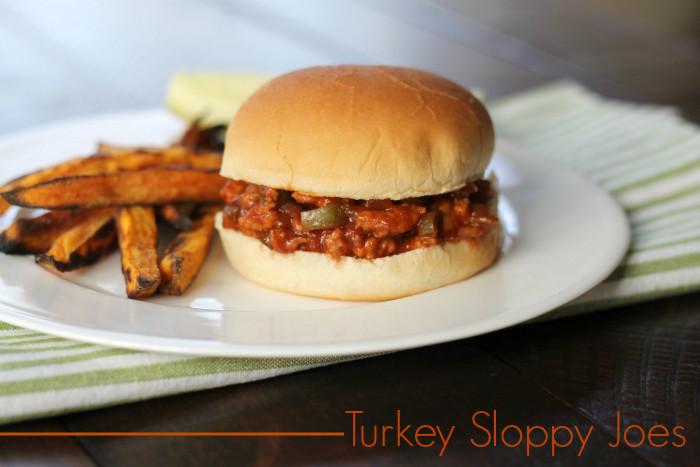 Turkey Sloppy Joes  Turkey Sloppy Joes Menu Plan Recipe 2