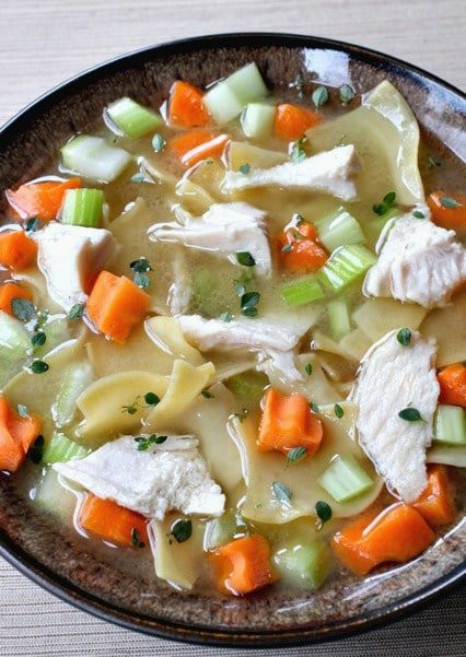 Turkey Soup From Leftover  Homemade Turkey Soup