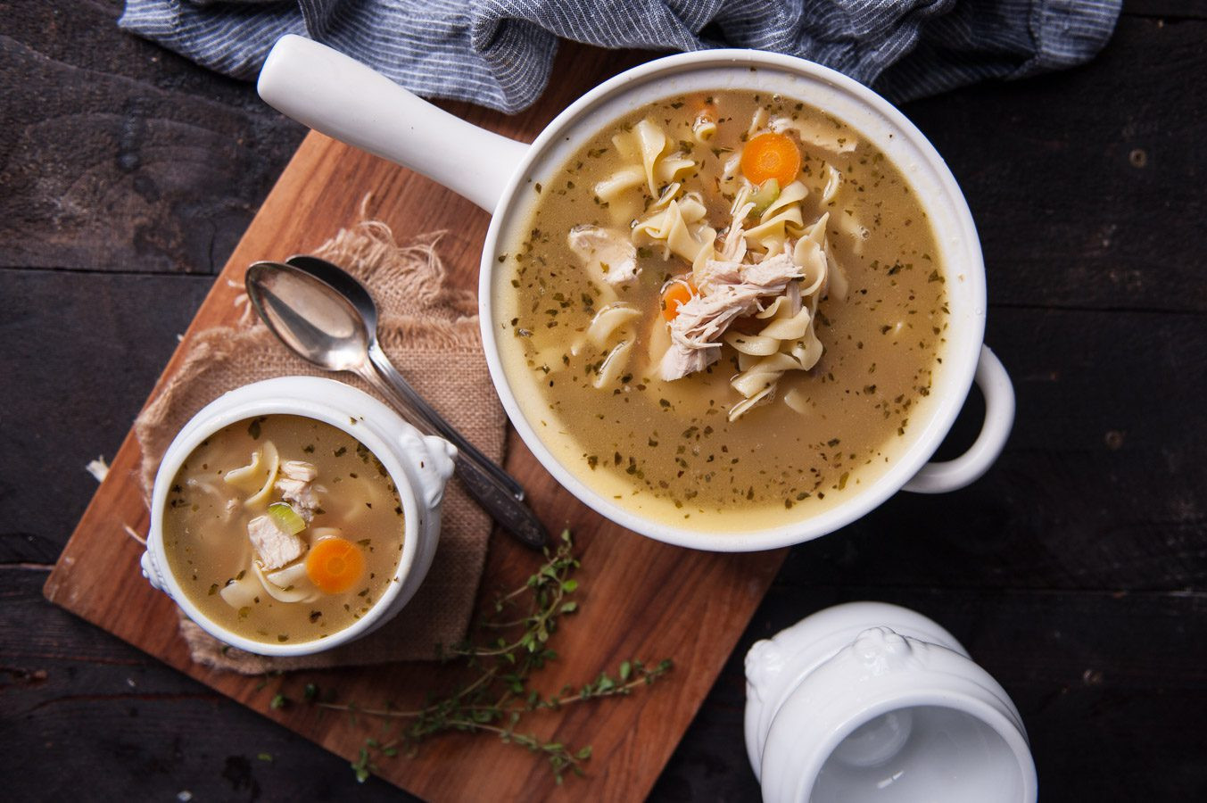 Turkey Soup From Leftover  Homemade Turkey Soup Recipe Using a Leftover Carcass