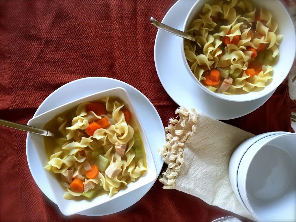Turkey Soup From Leftover  Leftover Turkey Soup