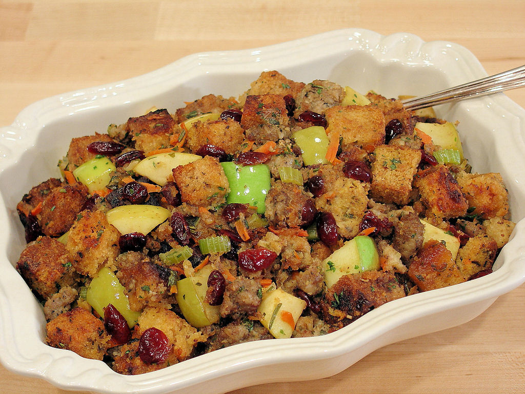 Turkey Stuffing With Sausage  Five Star Sausage Apple and Cranberry Stuffing