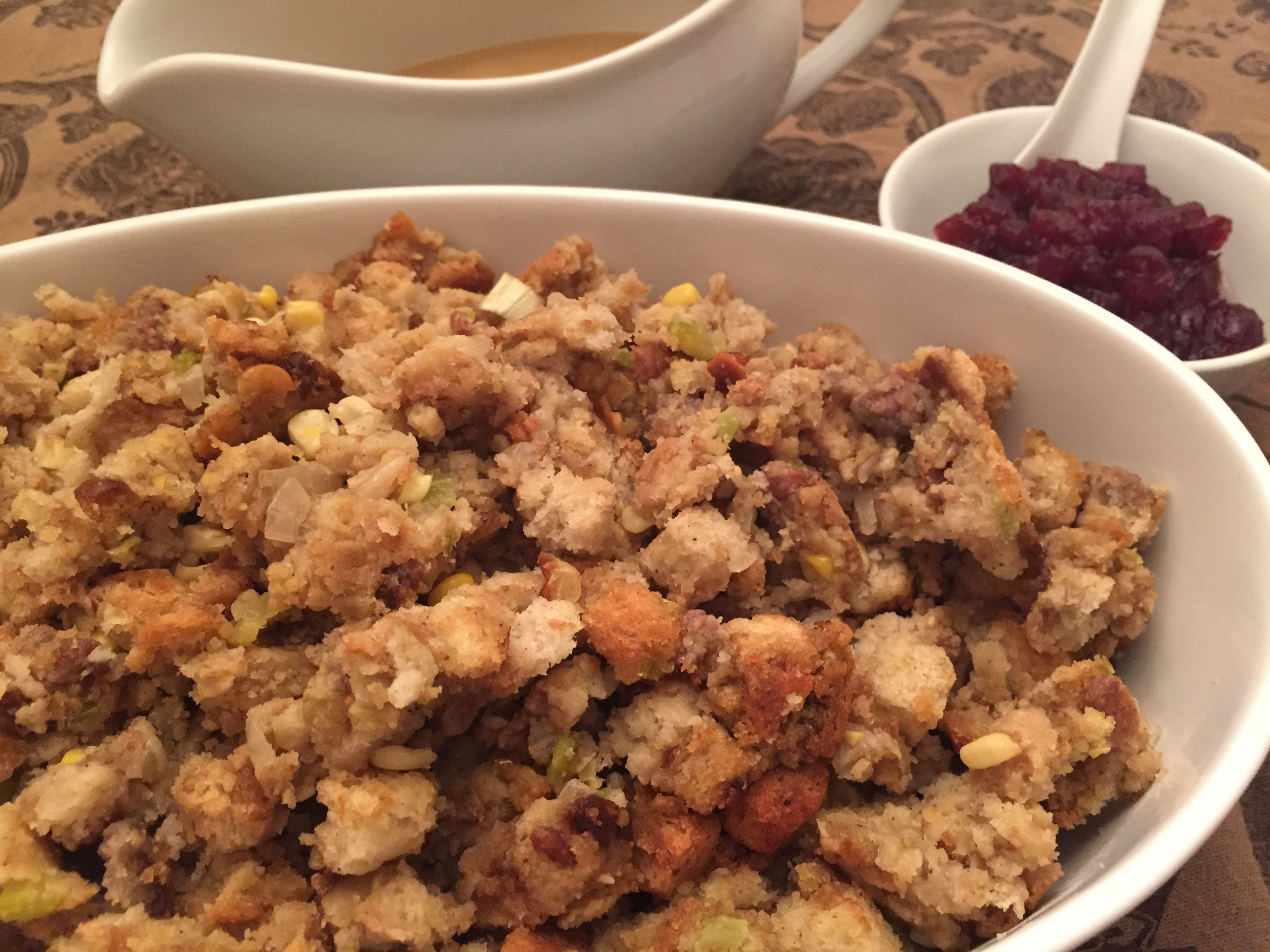 Turkey Stuffing With Sausage  Thanksgiving Stuffing with Sausage Recipe Mealtime