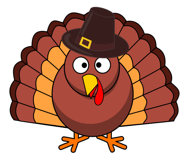 Turkey Thanksgiving Cartoon  Free Thanksgiving Cartoon Clipart 1 page of free to use