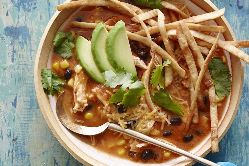 Turkey Tortilla Soup  Turkey Tortilla Soup What s Gaby Cooking