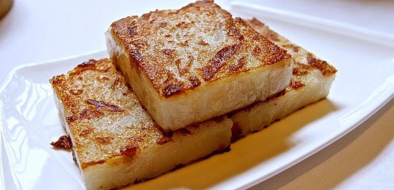 Turnip Cake Recipe  The Best Pan Fried Turnip Cake Recipe