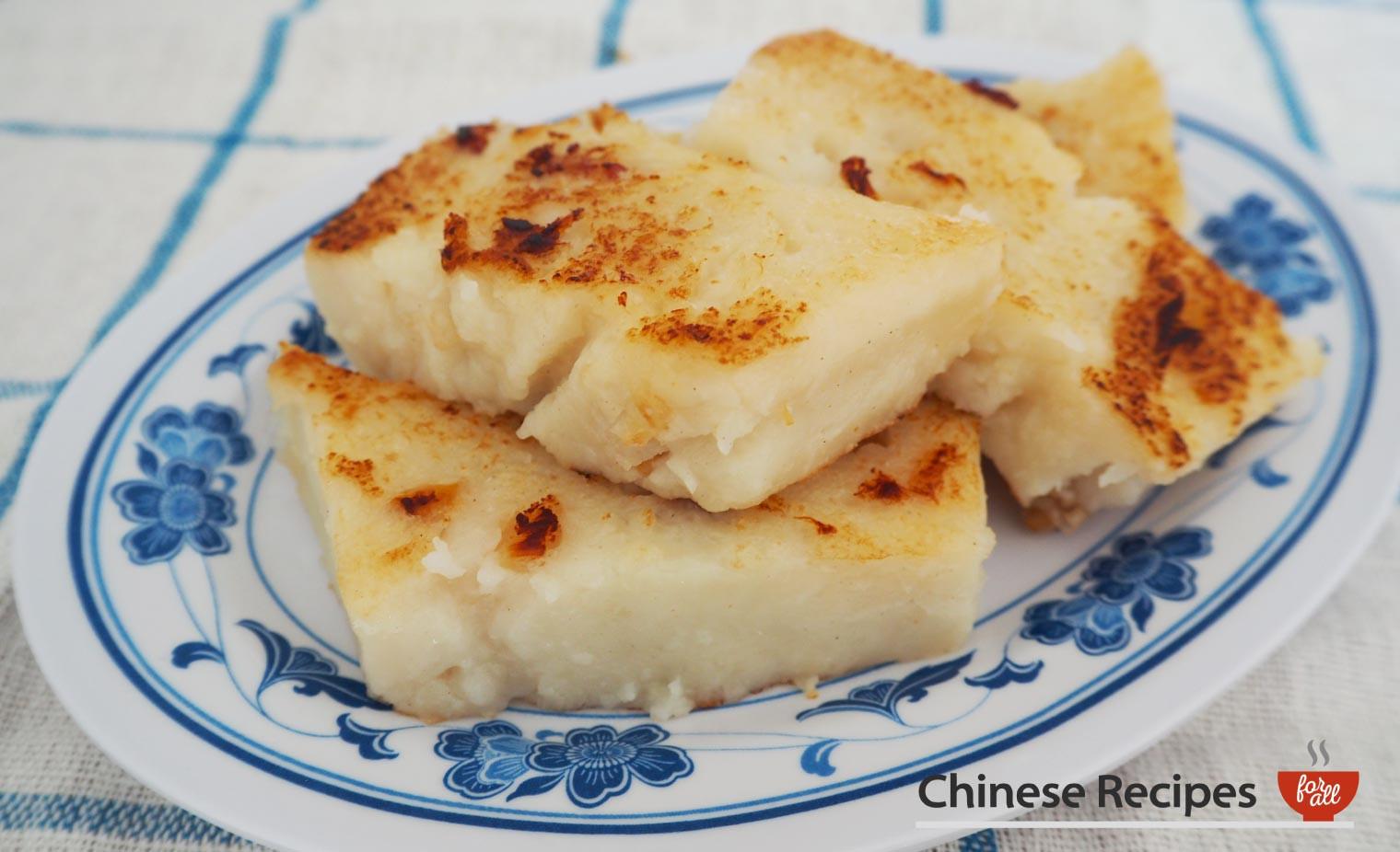 Turnip Cake Recipe  Chinese Turnip Cake Savoury Recipes