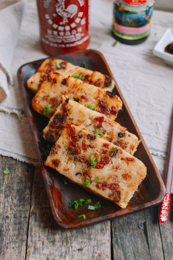 Turnip Cake Recipe  Turnip Cake Chinese Lo Bak Go The Woks of Life