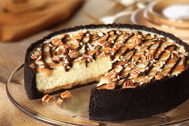 Turtle Cheesecake Recipe  Ultimate Turtle Cheesecake Kraft Recipes