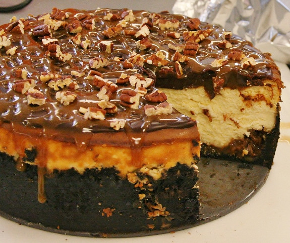 Turtle Cheesecake Recipe  turtles cheesecake recipe