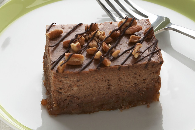 Turtle Cheesecake Recipe  Chocolate Turtle Cheesecake Kraft Recipes