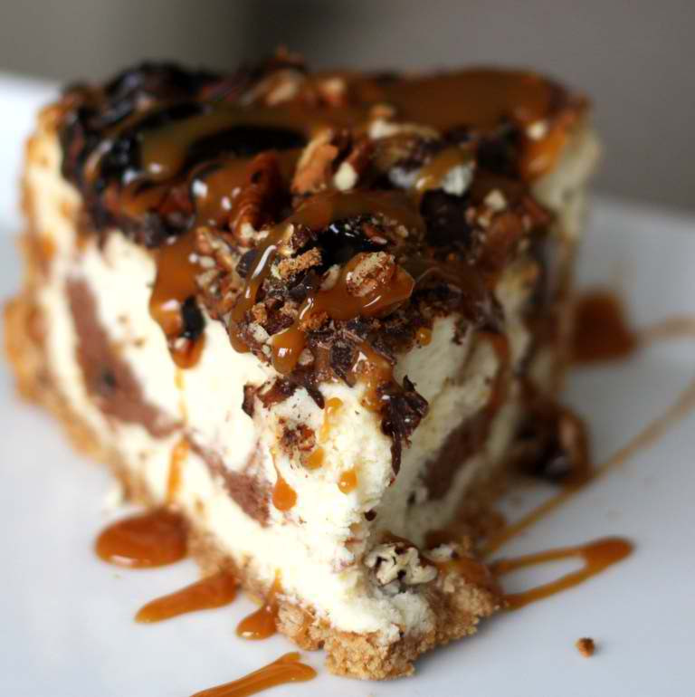 Turtle Cheesecake Recipe  Ultimate Turtle Cheesecake Recipe