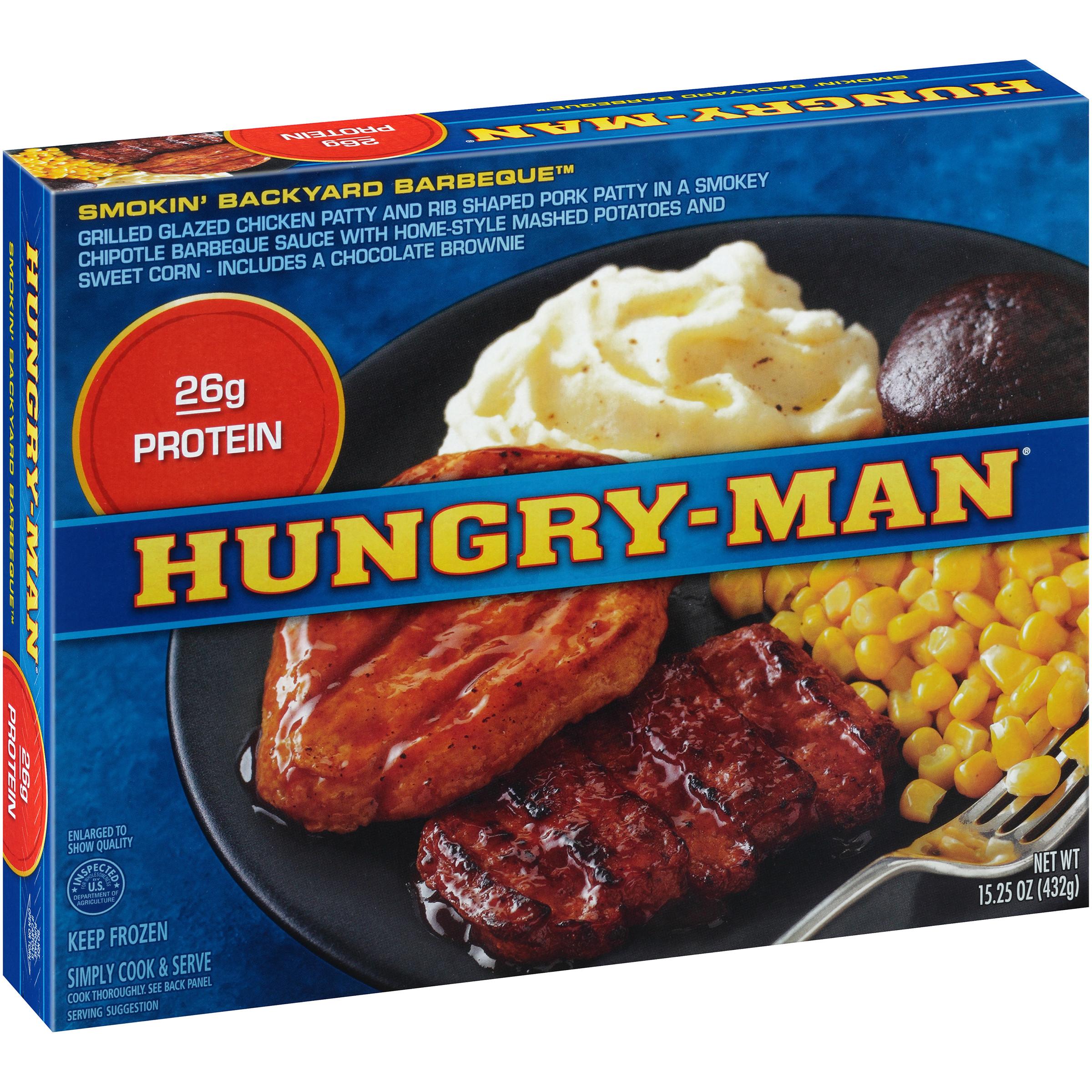 Tv Dinner Brands  Hungry man Frozen Dinners & Meals Walmart