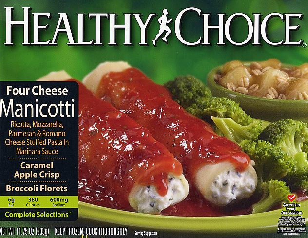 Tv Dinner Brands  Tv dinners healthy choice