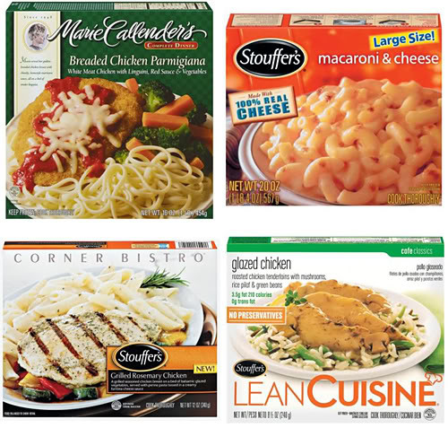Tv Dinner Brands  FReeper Canteen The TV Dinner Test 18 April 2012