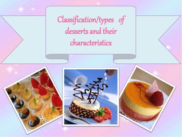 Type Of Dessert  Typesofdessert