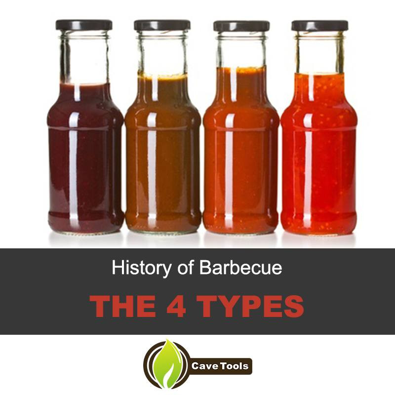 Types Of Bbq Sauce  History of Barbecue The Four Types of Barbecue Found In