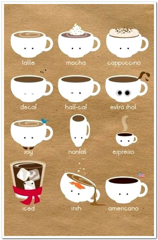 Types Of Coffee Drinks  Which Coffee is Best for You