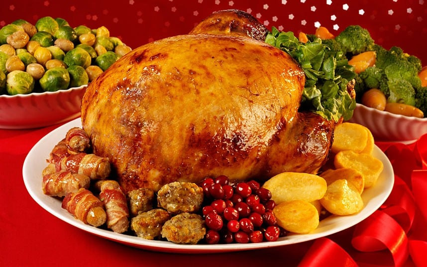 Typical Christmas Dinner  Why Christmas dinner will be 5pc cheaper this year Telegraph