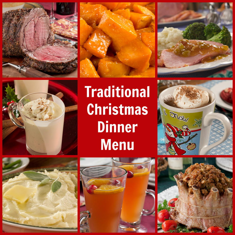 Typical Christmas Dinner  Traditional Christmas Dinner Menu