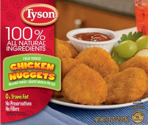 Tyson Chicken Tenders  Every Frozen Chicken Nug —Ranked