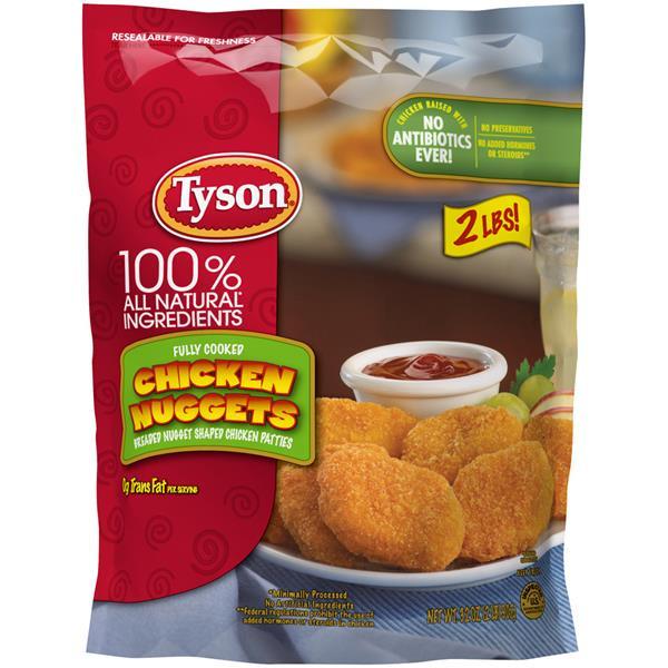 Tyson Chicken Tenders  Tyson Chicken Nug s