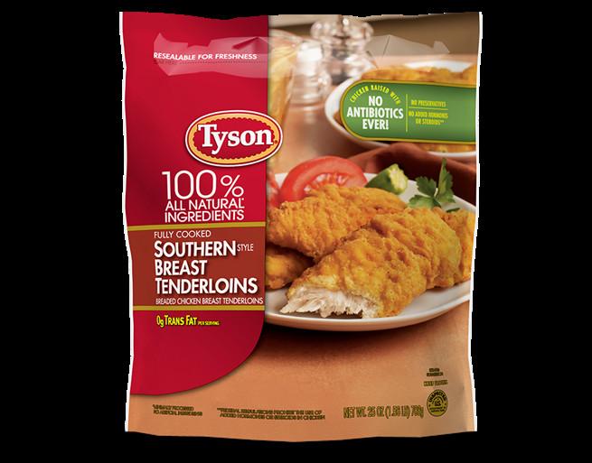 Tyson Chicken Tenders  Southern Style Chicken Tenders
