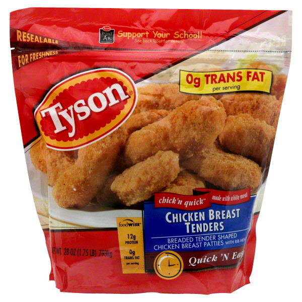 Tyson Chicken Tenders  Tyson Breaded Chicken Coupon