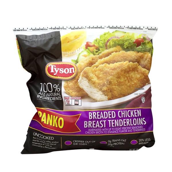 Tyson Chicken Tenders  Tyson Breaded Chicken Breast Tenderloins from Costco