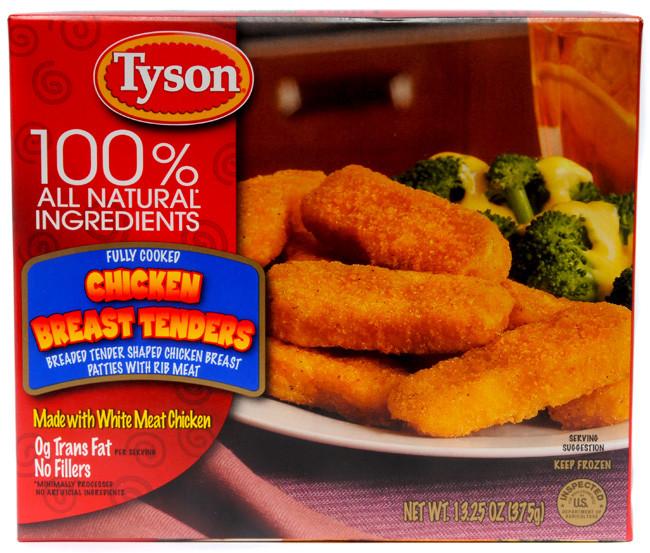 Tyson Chicken Tenders  Tyson Chicken Breast Tenders